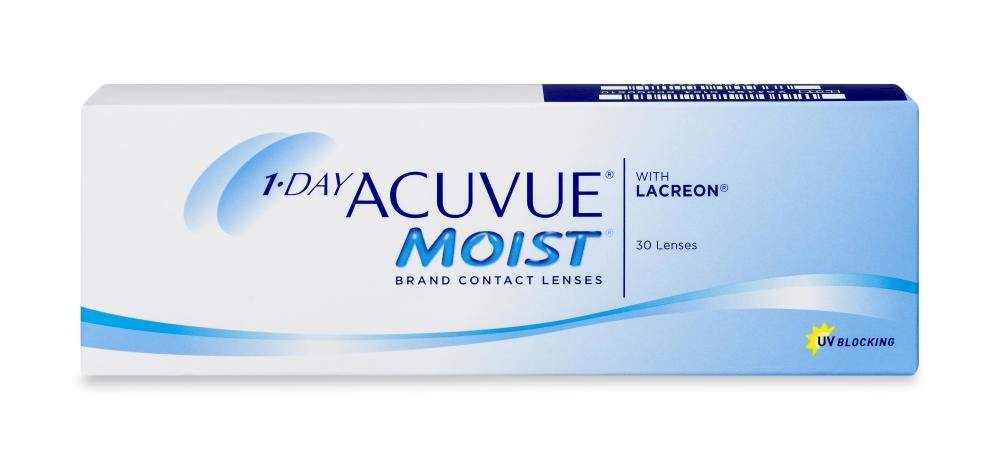 1-day Acuvue Moist 30 PACK Kontaktlinse