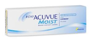 1-day Acuvue Moist for Astigmatism 30 PACK Kontaktlinse