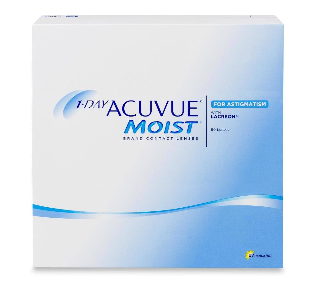1-day Acuvue Moist for Astigmatism 90 PACK Kontaktlinse