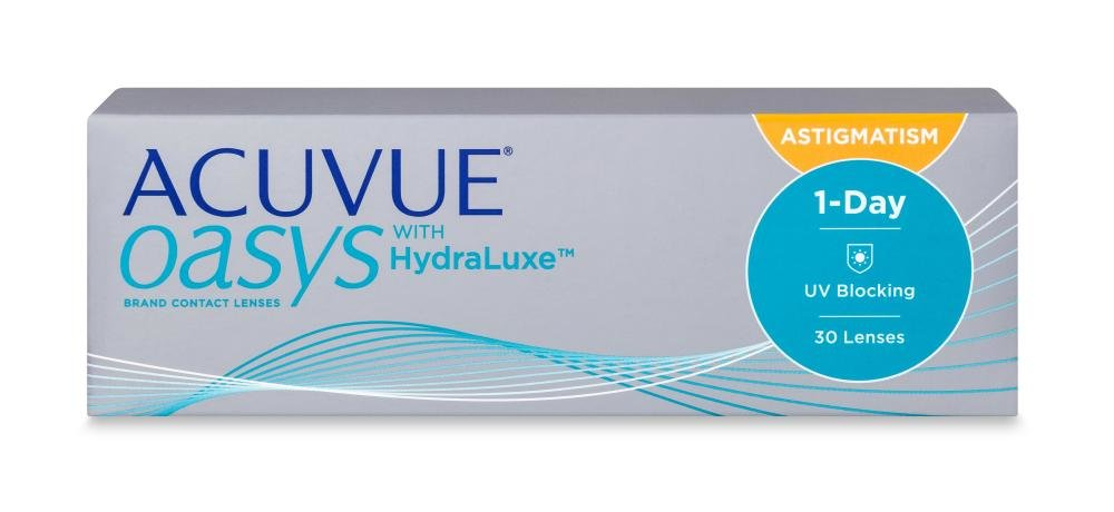 1-day Acuvue Oasys for Astigmatism 30 PACK Kontaktlinse