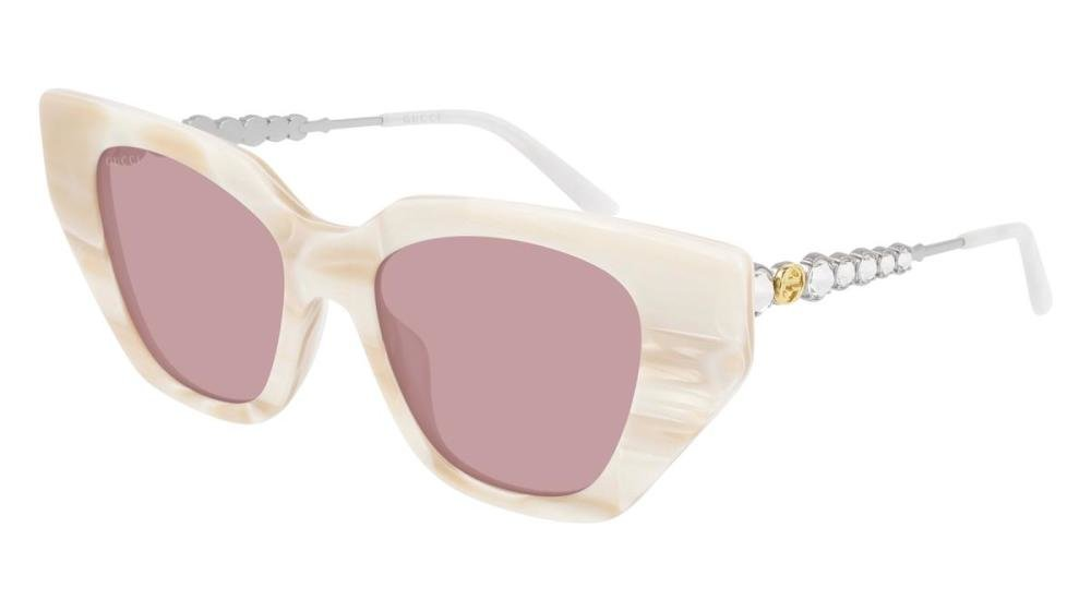 GUCCI GG0641S 004 Solbrille Multi med Annet glass