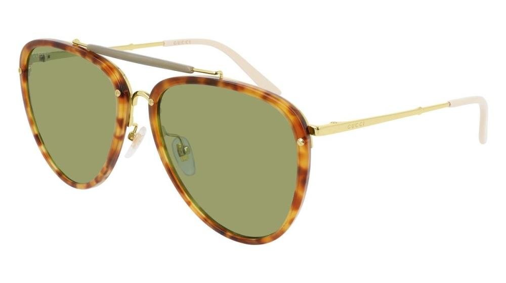 GUCCI GG0672S 003 Solbrille Multi med Annet glass