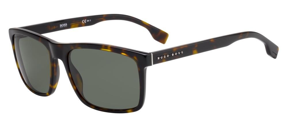 HUGO BOSS BOSS 1036/S 086 Solbrille Multi med Grå / Sort glass