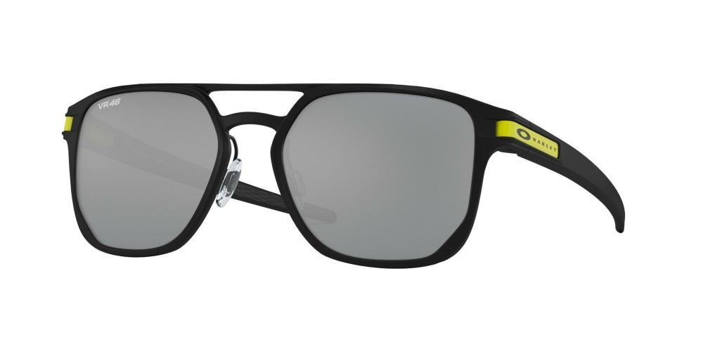 OAKLEY LATCH ALPHA 0OO4128 412808 Solbrille Sort med Grå / Sort glass