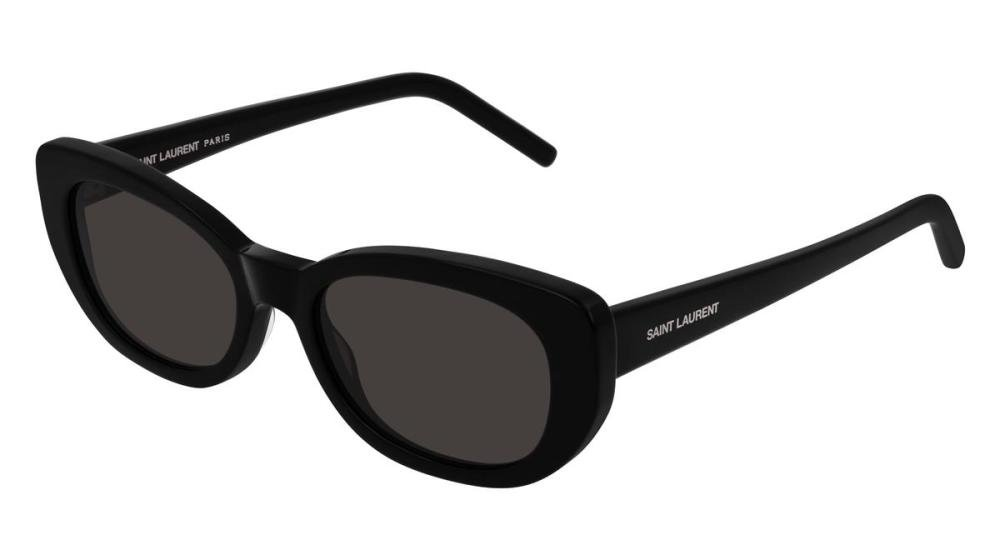 SAINT LAURENT SL 316 BETTY 001 Solbrille Sort med Grå / Sort glass