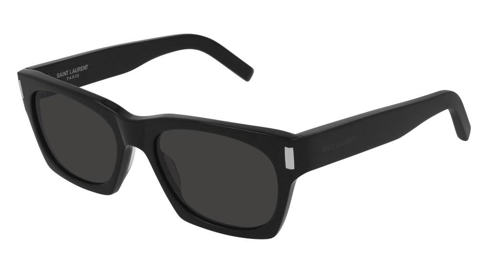 SAINT LAURENT SL 402 001 Solbrille Sort med Grå / Sort glass