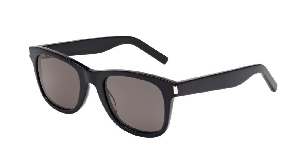 SAINT LAURENT SL 51 002 Solbrille Sort med Grå / Sort glass